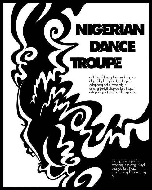 Nigerian Dance Troupe