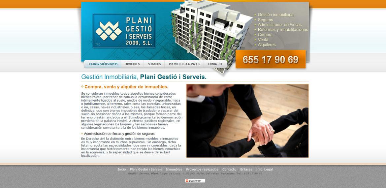 Plani Gestion Serveis