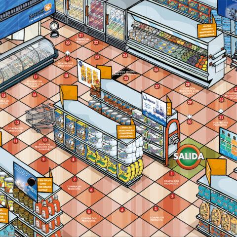 Jeu Supermarché