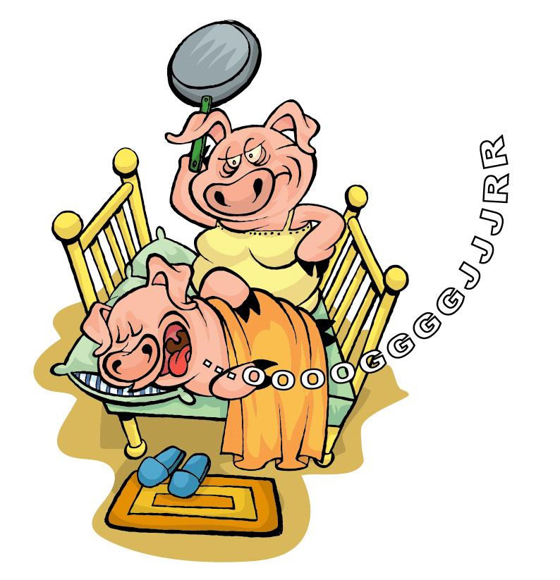 Cochon ronflements