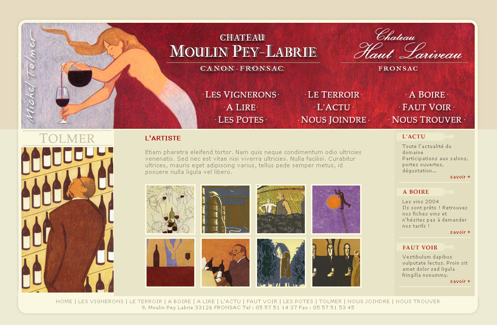 Moulin Pey Labrie