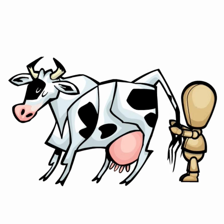 Vache Bonhomme
