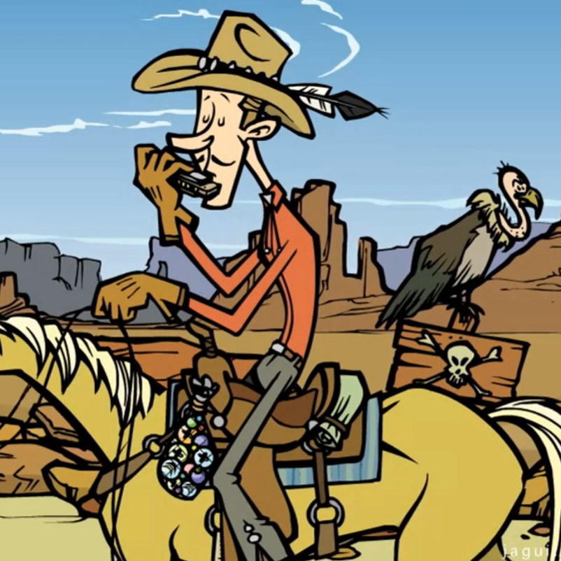 Jean le cowboy