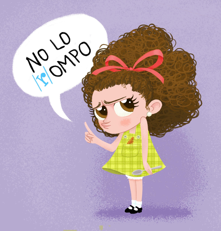 """Pulcina """"No lo /r/ompo"""""""